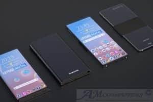 Samsung con Display estensibile: presentato il primo progetto al Mondo