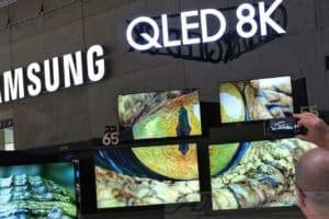 Samsung presenta: Smart TV 5G con risoluzione 8K