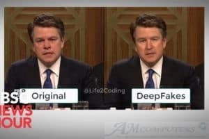 Deepfake: video contraffatto basato sull'intelligenza artificiale