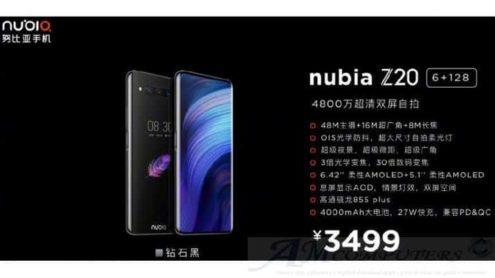 Nubia Z20: il Top di Gamma con doppio display
