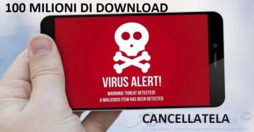 App Android pericolose da eliminire subito