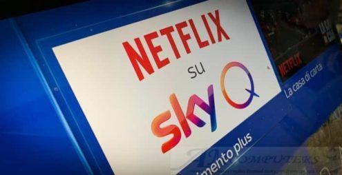 Netflix su Sky Q è ufficiale: Prezzi e Offerte