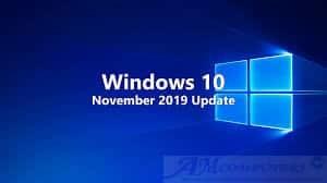 Windows 10 problemi con l'aggiornamento November 2019 Update