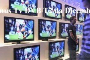 Bonus Tv DVB T2 da Dicembre come richiederlo