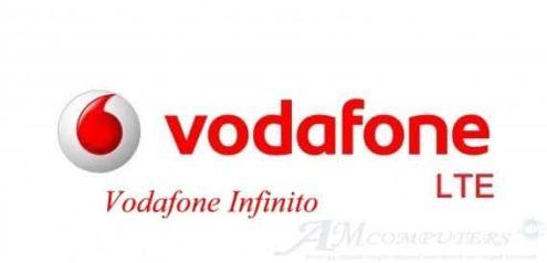 Vodafone Infinito: Giga sms e minuti illimitati