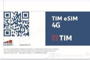 le eSIM sbarcano ufficialmente in Italia