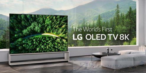 TV LG Z9: il primo OLED con Risoluzione 8K