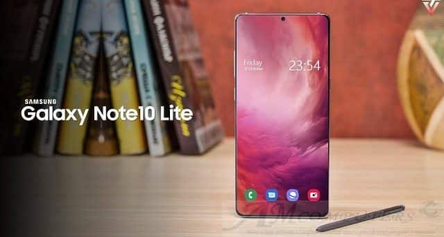 Galaxy Note 10 Lite ufficiale il 7 Gennaio a Las Vegas