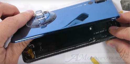 Huawei P20 Pro sostituzione vetro touch lcd