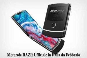 Motorola RAZR Ufficiale in Italia da Febbraio