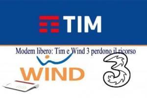 Modem libero: Tim e Wind 3 perdono il ricorso