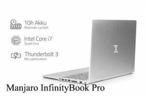 Manjaro InfinityBook Pro Notebook con Linux a Bordo