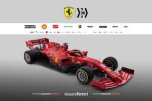 F1 SF1000 la nuova Ferrari del Mondiale 2020