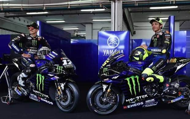 MotoGP: Presentata a Sepang la Yamaha M1 2020