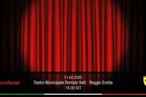 Presentazione Ferrari 2020: in Diretta Streaming