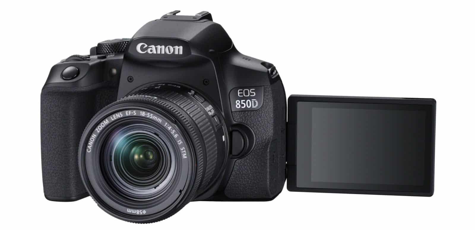Canon EOS 850D la nuova Reflex in Ultra HD