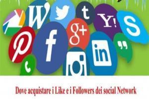 Dove acquistare i Like e i Followers dei social Network