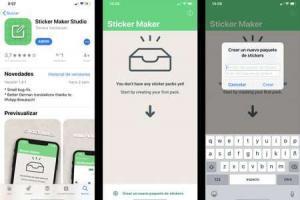 Sticker Maker Studio per Creare adesivi su WhatsApp e Telegram