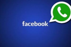 Facebook: Tasto Invia su WhatsApp