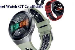 Huawei Watch GT 2e ufficiale