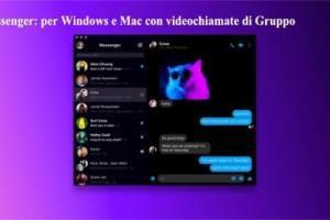 Messenger: per Windows e Mac con videochiamate di Gruppo