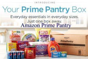 Amazon Prime Pantry Servizio con Consegna a Domicilio