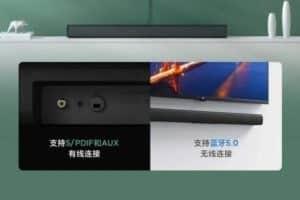 Xiaomi presenta Redmi TV Sound Bar a soli 25 euro