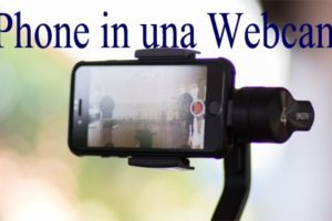 Come Trasformare il vostro iPhone in una Webcam
