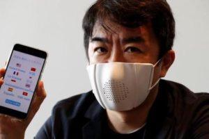 C-mask la mascherina Smart connessa allo Smartphone