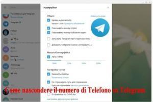 Come nascondere il numero di Telefono su Telegram