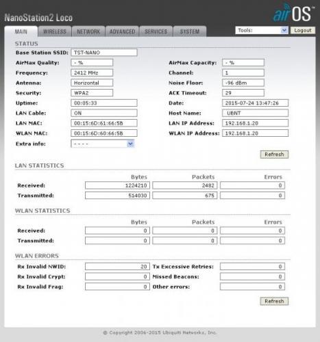 Come Configurare PicoStation e NanoStation come access point